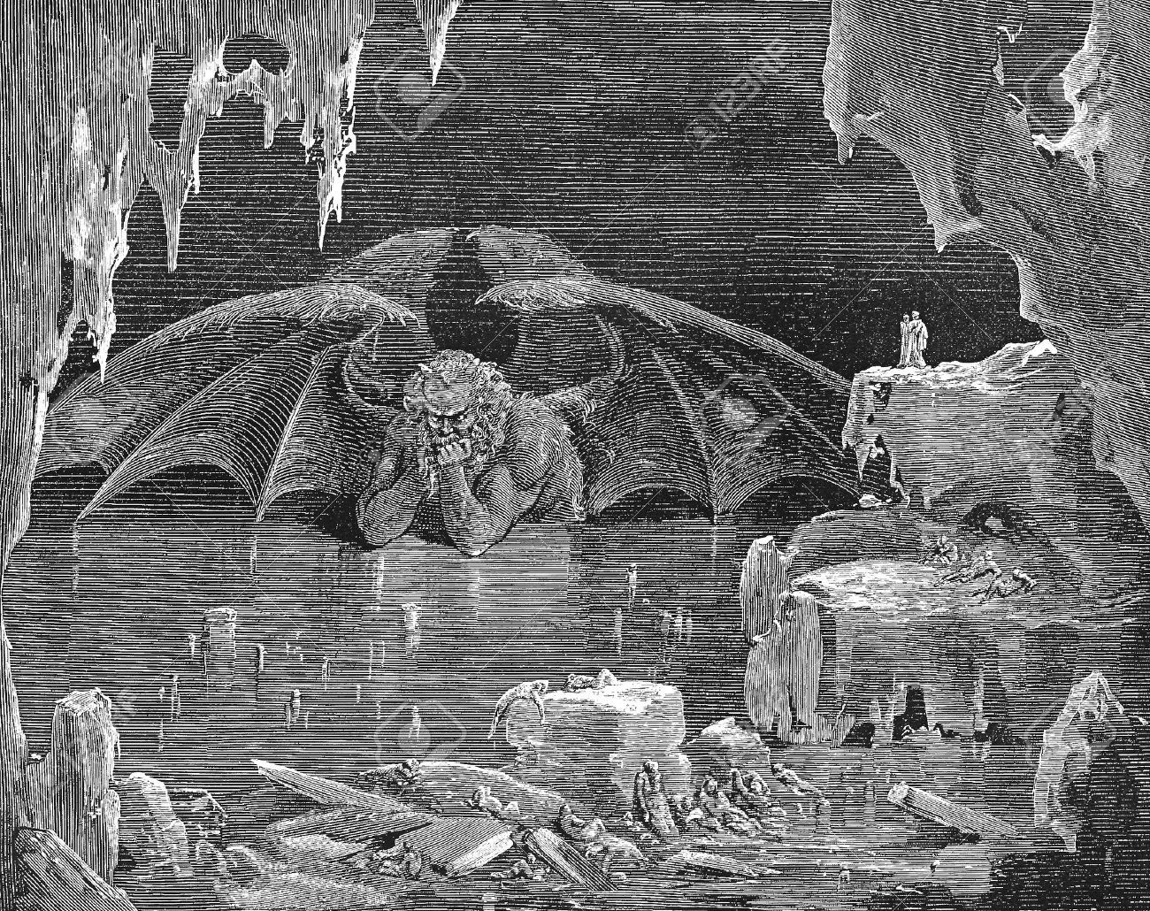the depiction of the journey in dante alighieris inferno Inferno (hell) is the first part of the 14th-century dante alighieri's epic  the  divine comedy is dante's journey from hell to paradise, where  in dante's  inferno, sinners and punishments have a strong physical representation.