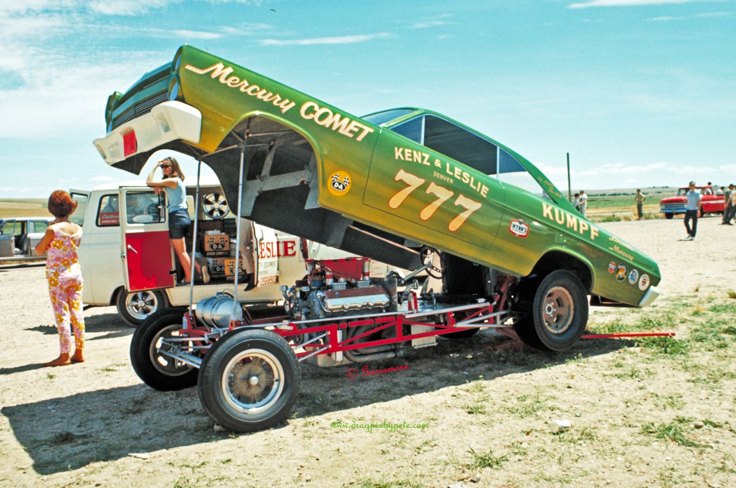 Kenz & Leslie Comet Funny Car @ Rocky Mountain Dragway July 1966