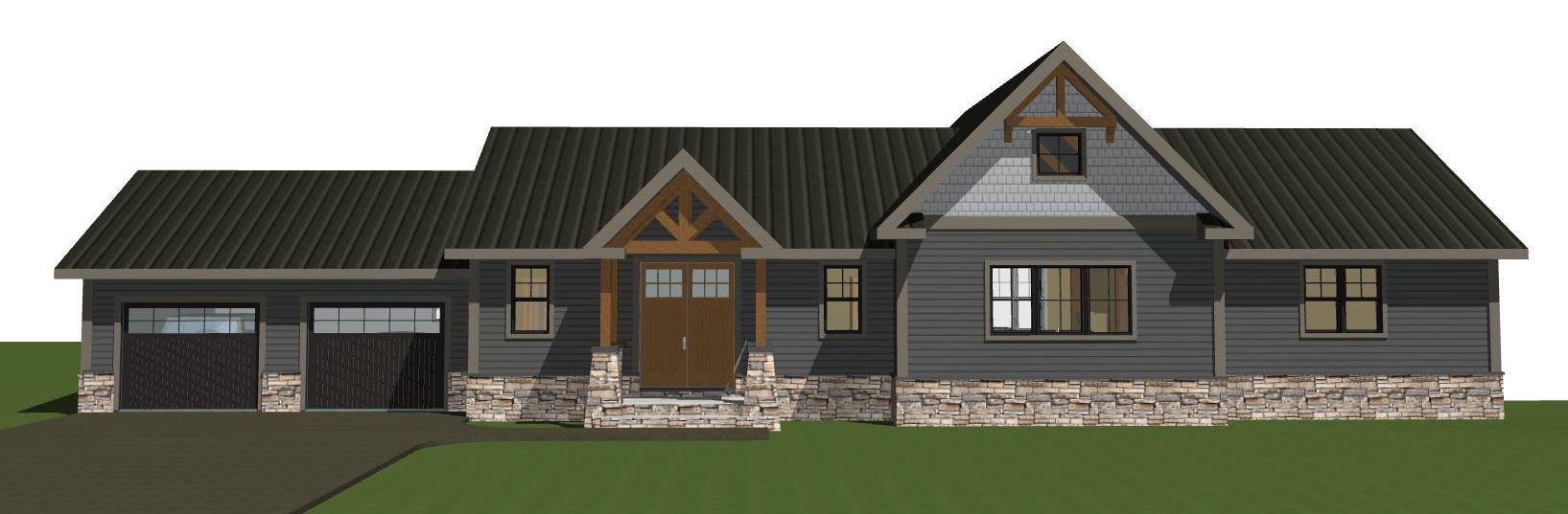 Single Level Partial Post And Beam Homes The Rosewood Yankee Barn Homes Post And Beam Barn House