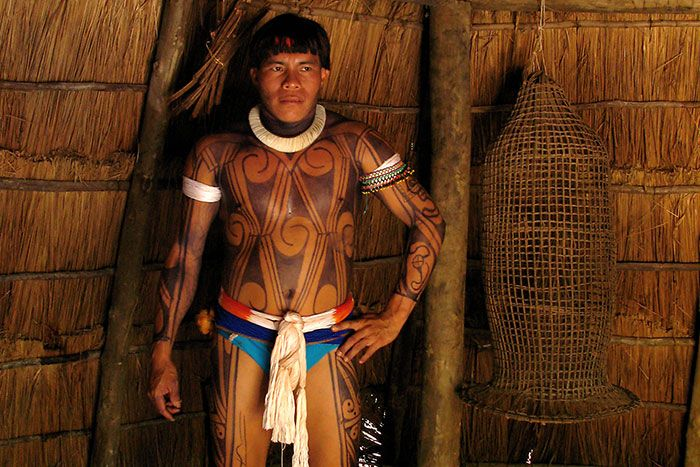 Armario De Parede Cozinha ~ kuikuro Pesquisa Google Pintura corporal América do Sul e Central (native body painting