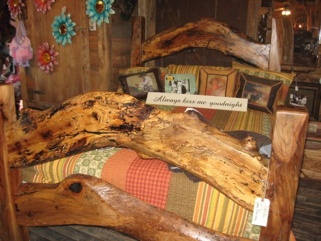 Captivating Handmade Pecan Bed From Texas Hill Country Furniture