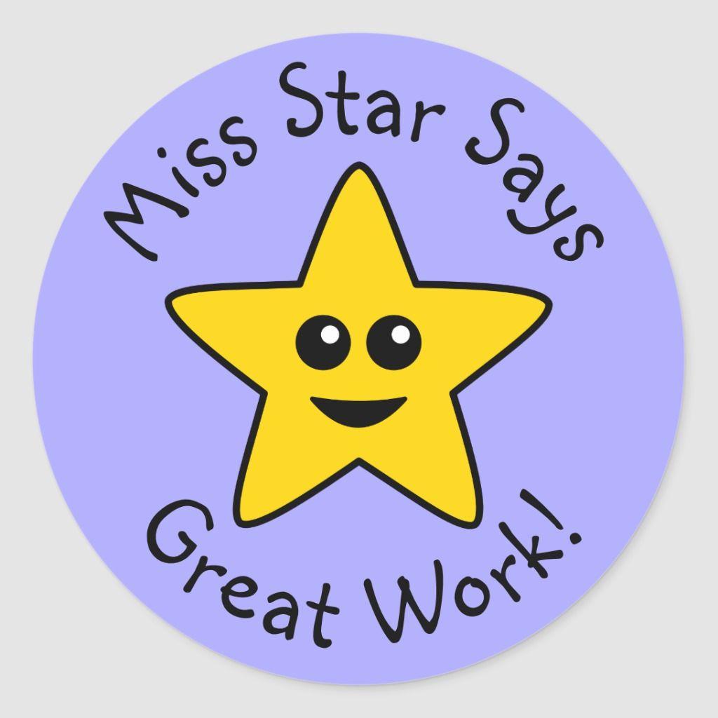 Happy star great work stickers in 2020 work