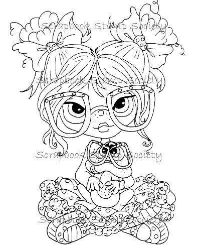 Eleanor And Pickles Best Friends By Heather Valentin 3 00 Via Etsy Coloring Books Coloring Book Art Coloring Pages