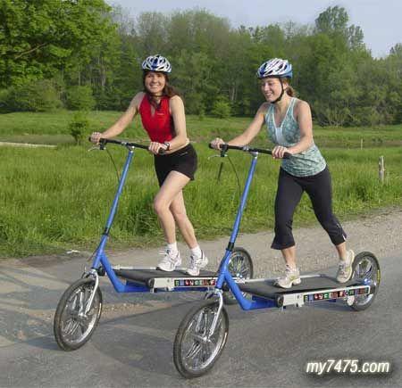 Treadmill Bike Concept Bicycle Bike Scooter Bike