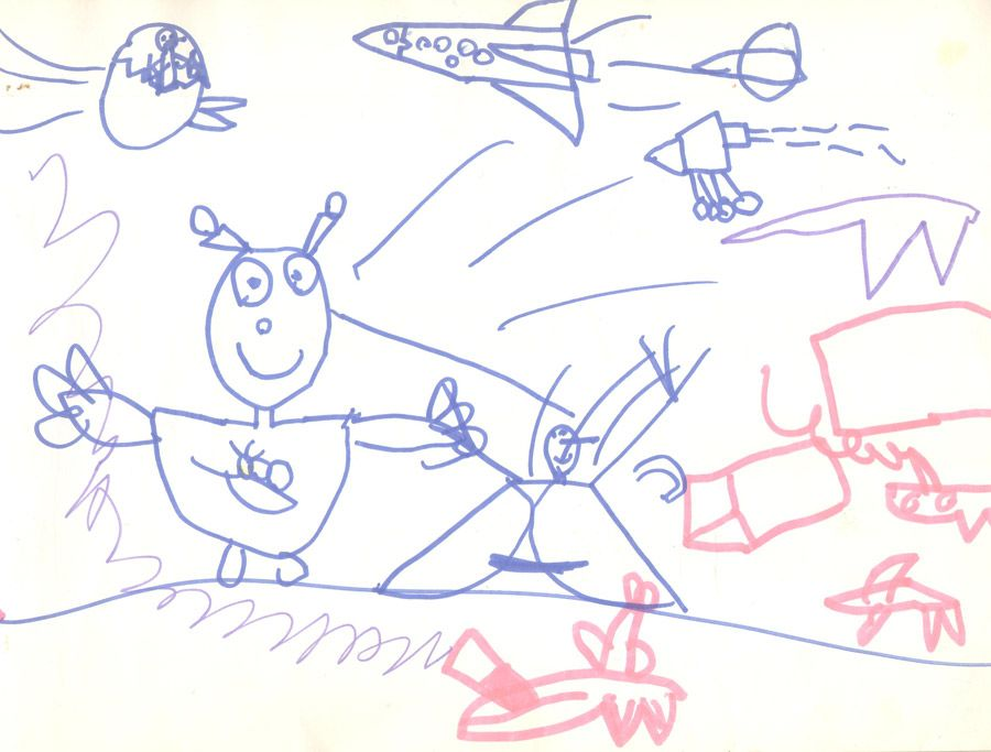 Image result for typical 5 year old drawings | Drawings ...