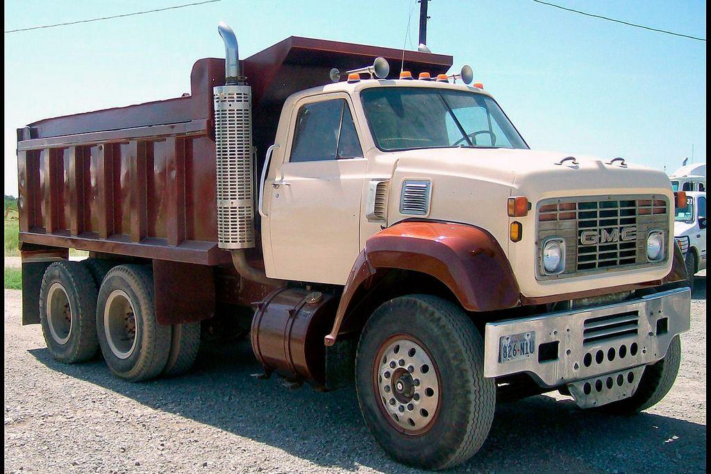 1977 Gmc 9500 Gmc Trucks Trucks Dump Trucks