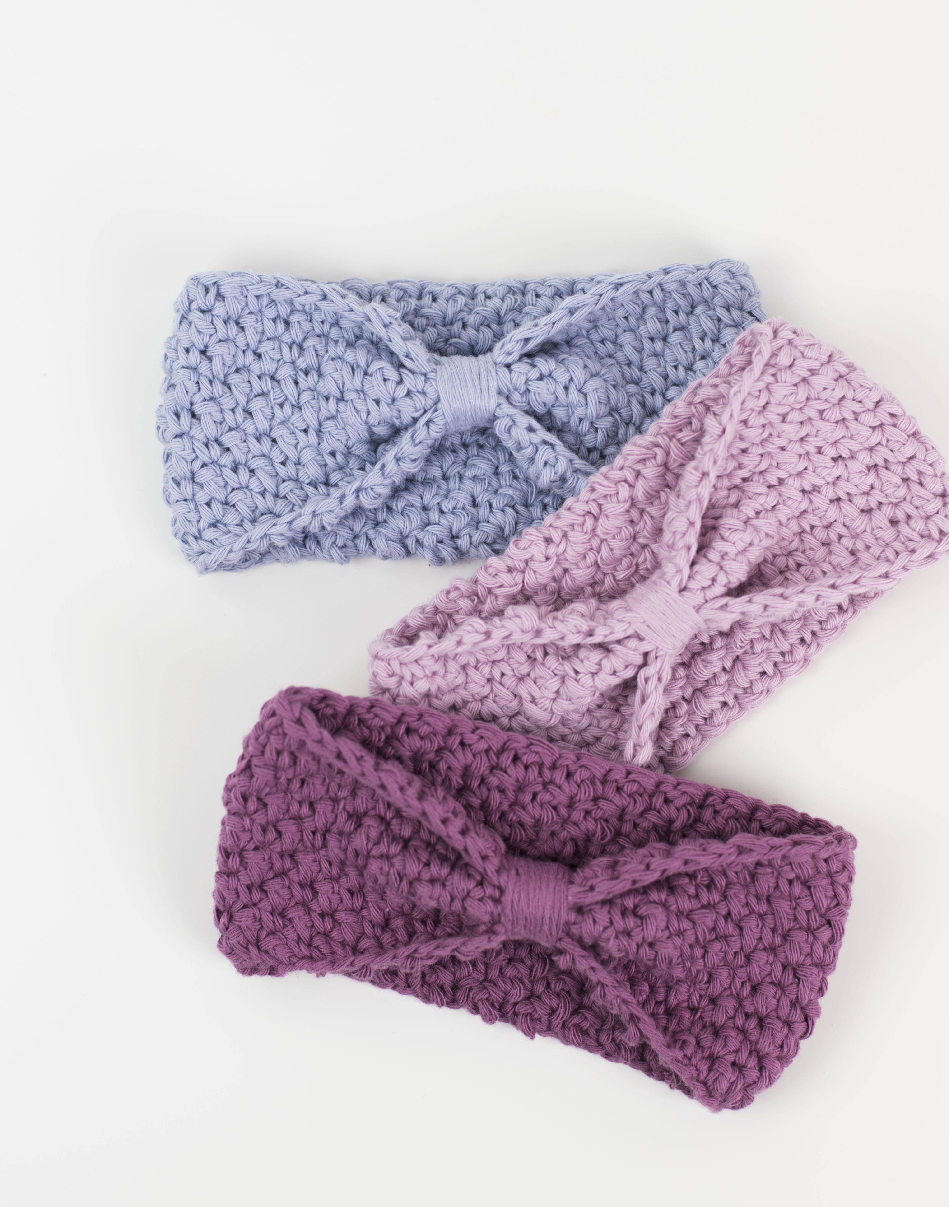 Free Pattern Super Easy Crochet Headband Croby Patterns Cancer