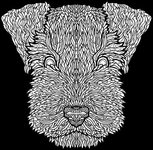 Best Coloring Books for Dog Lovers Coloring, Dogs and Best dogs - best of coloring pages for adults dogs