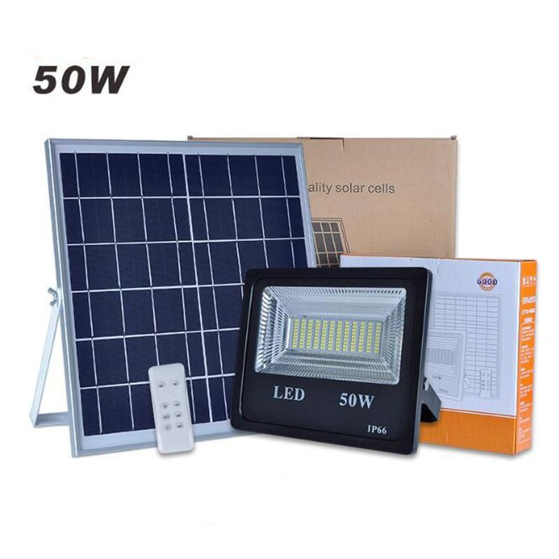Double Color Led Solar Flood Light