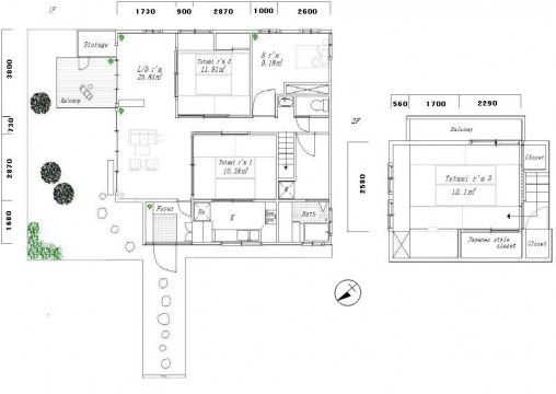 traditional japanese house floor plan - google search | floor plan