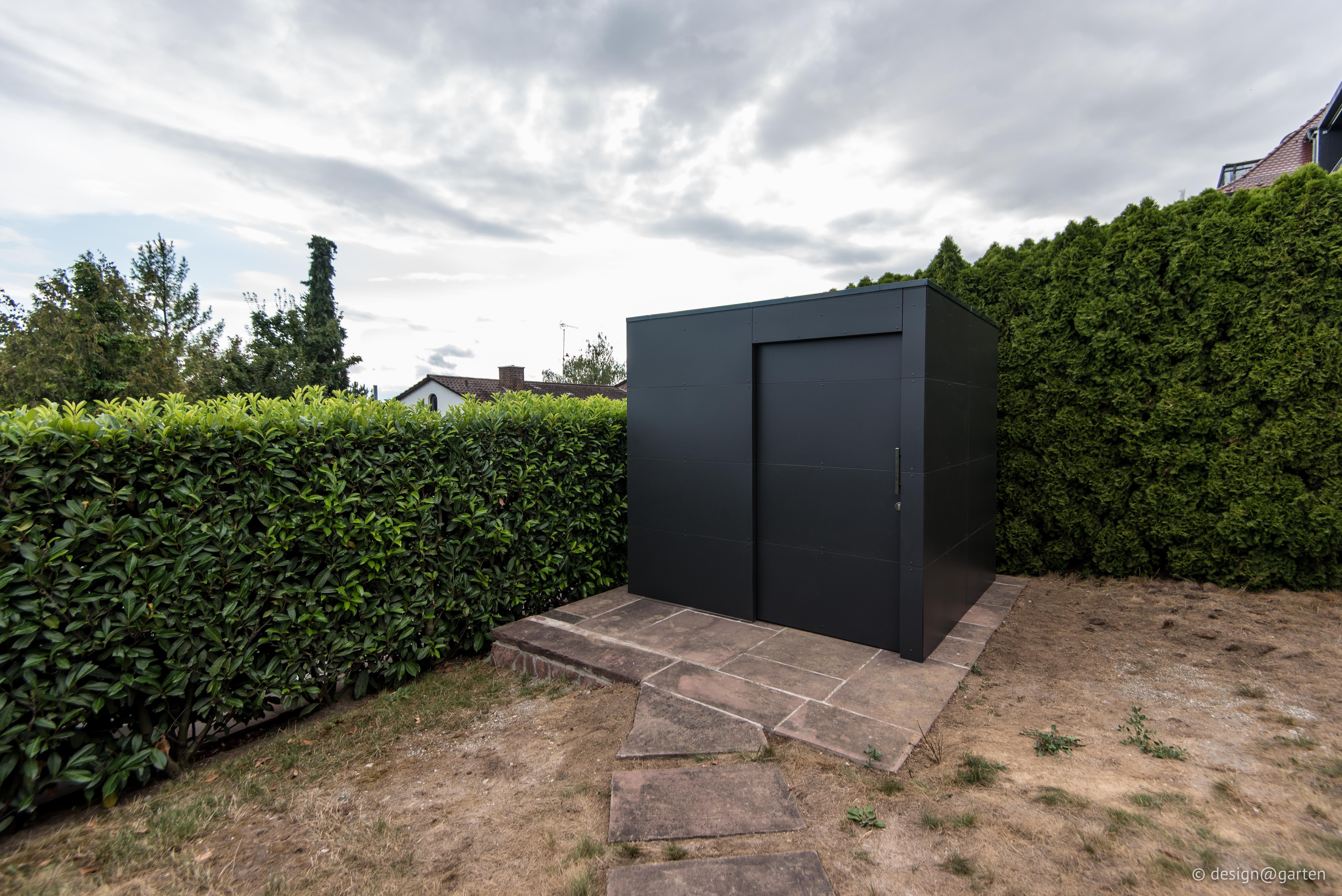 "Design Gartenhaus ""black box"" _gart in Heilbronn by"
