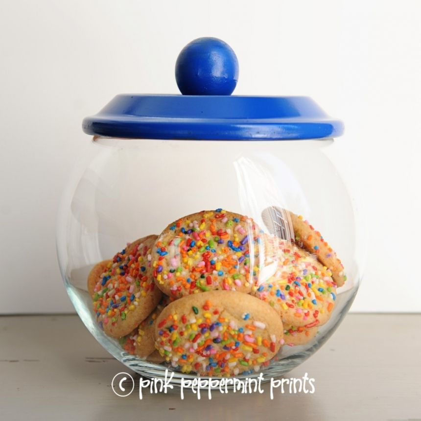 How To Decorate A Cookie Jar Tutorial Diy Cookie Jar For Party Decorations Party Favors Or