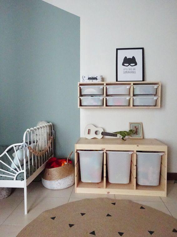Une chambre pour 2 enfants (avant-après)
