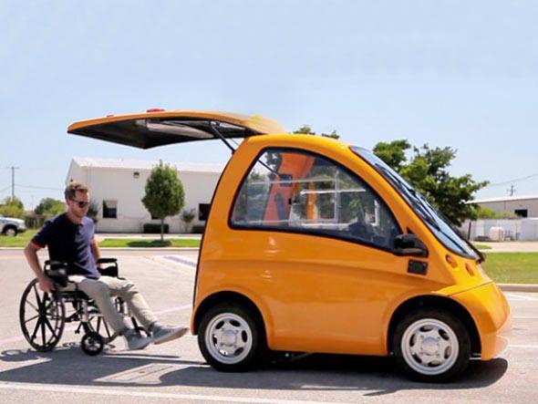 Kenguru O Primeiro Carro Eletrico Para Cadeirantes Veiculo