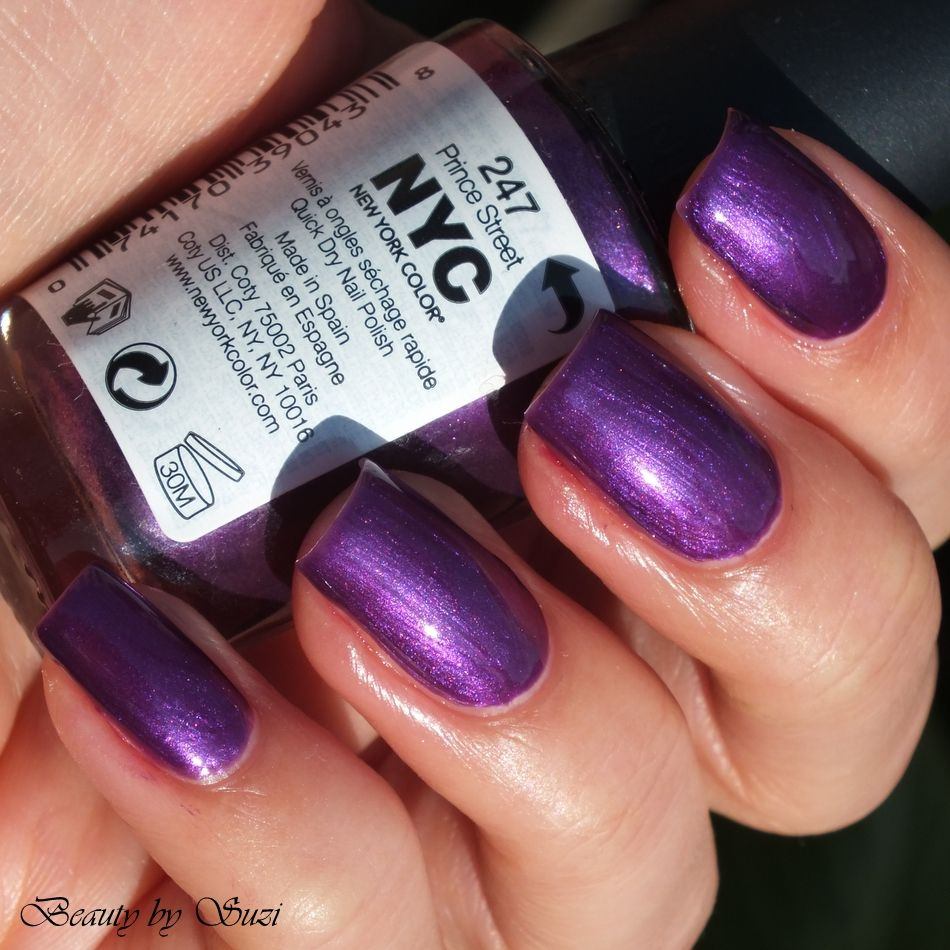 NYC In New York Color Quick Dry Nail Polish, 247 Prince Street ...