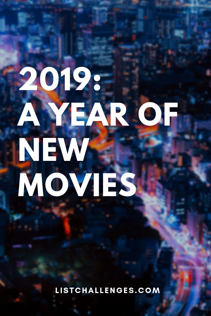 2019 A Year Of New Movies New Movies New Movies Coming Out