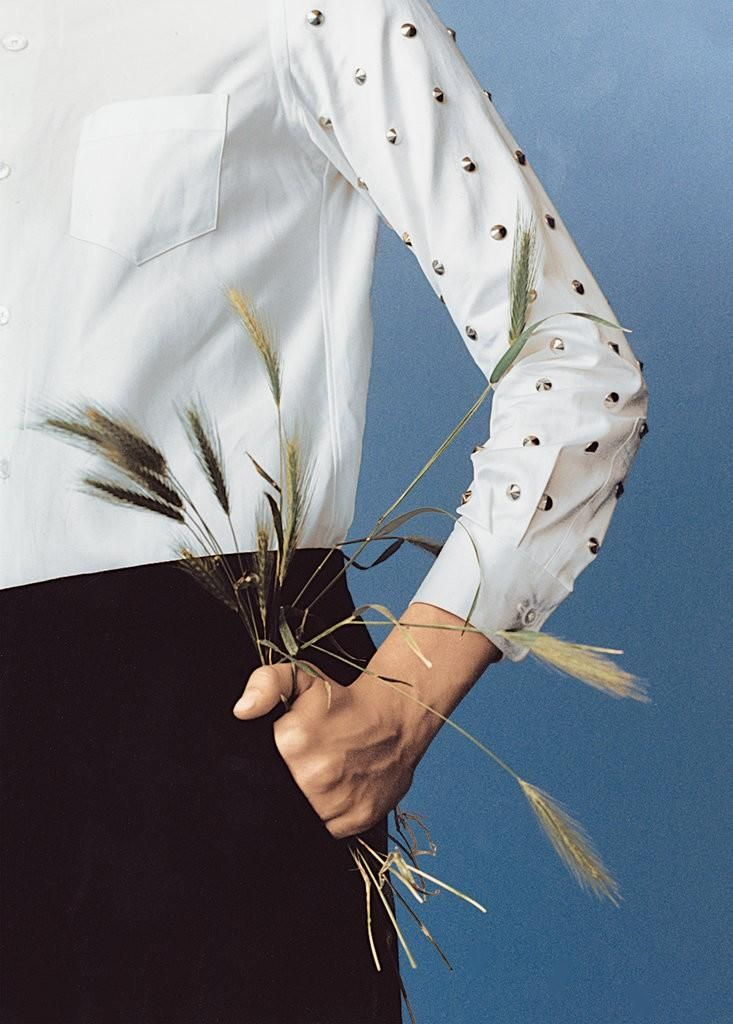 Versatile White Button-Downs (The New York Times Style Magazine)
