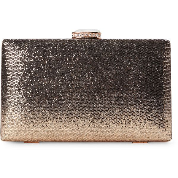 Natasha Gold Tone Sequin Minaure Found On Polyvore Featuring Bags Handbags Clutches