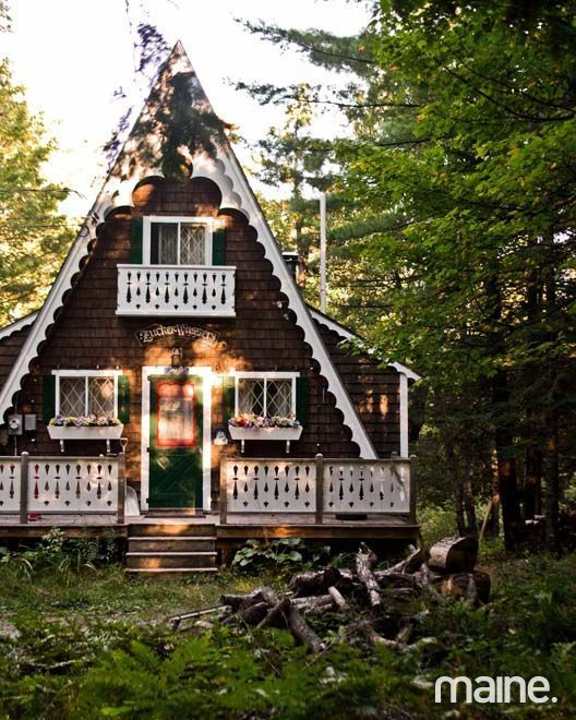 A-frame Cabins - Yahoo Image Search Results