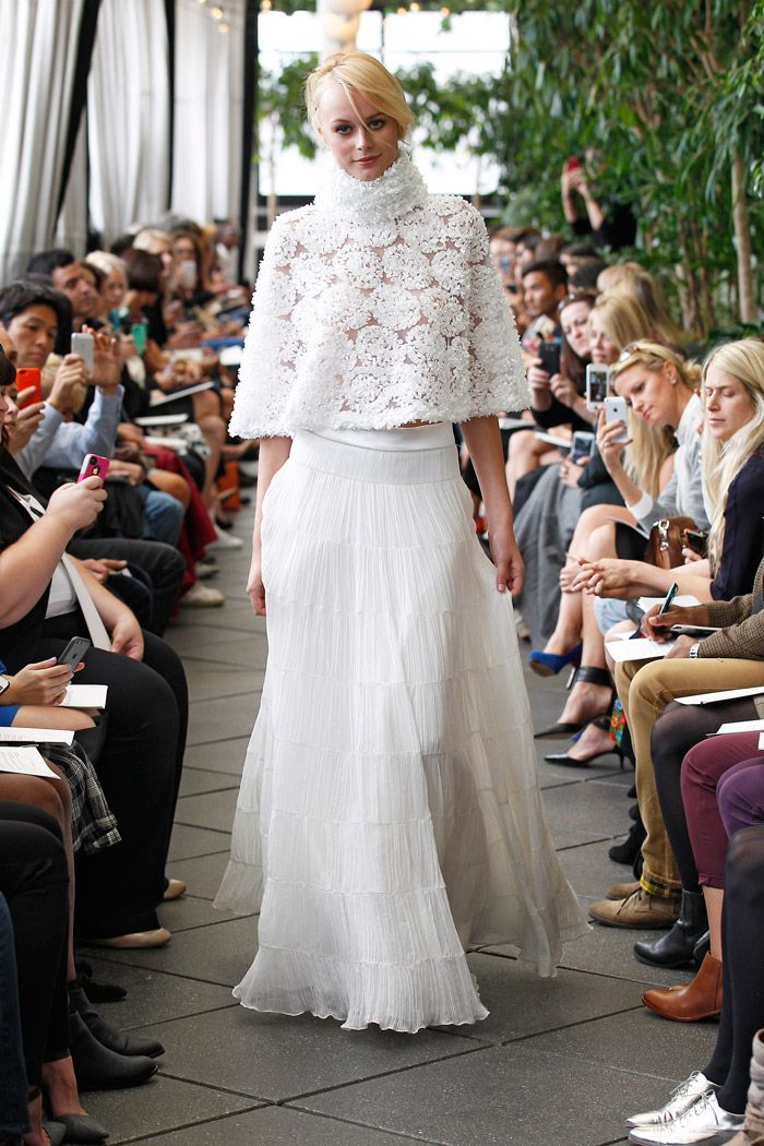 Delphine Manivet Fall 2015 Bridal Collection. www.theweddingnotebook.com
