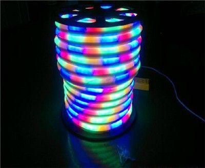 Wholesale-10m/lot LED Neon Flex Rope AC220V/110V PVC LED Light - outdoor christmas decorations wholesale