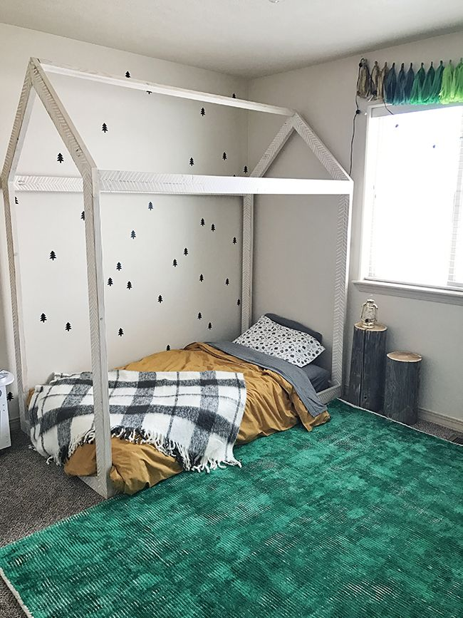 Camping Adventure Theme Toddler Boy Room