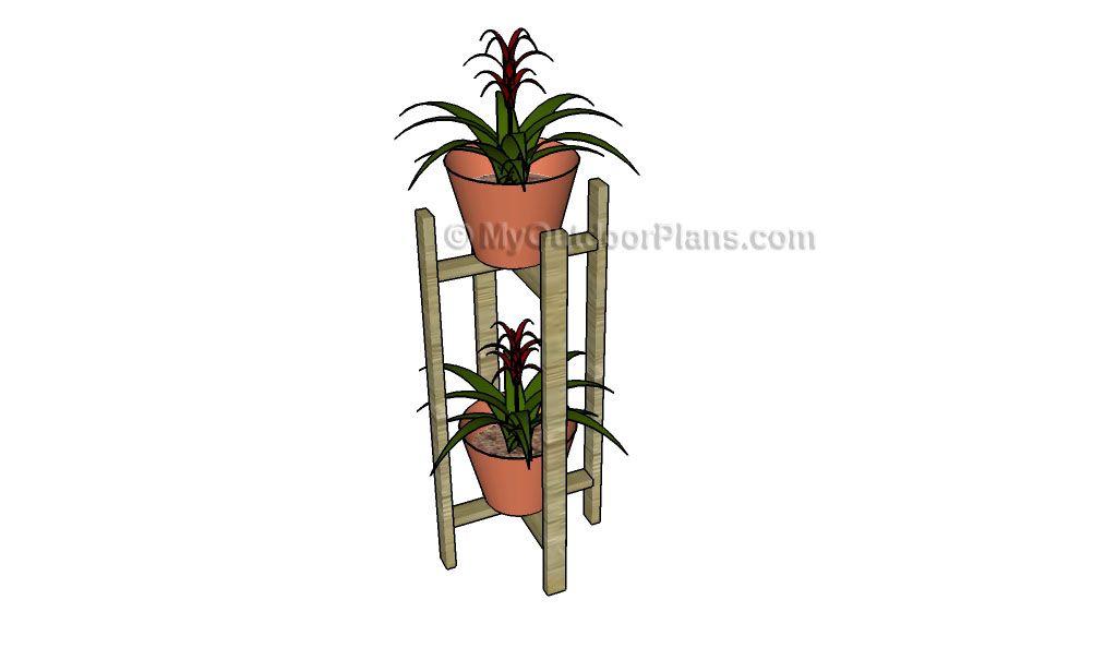 Indoor plant stand plans