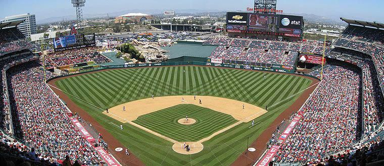 Baseball Live BaseballStadium Angel stadium, Anaheim