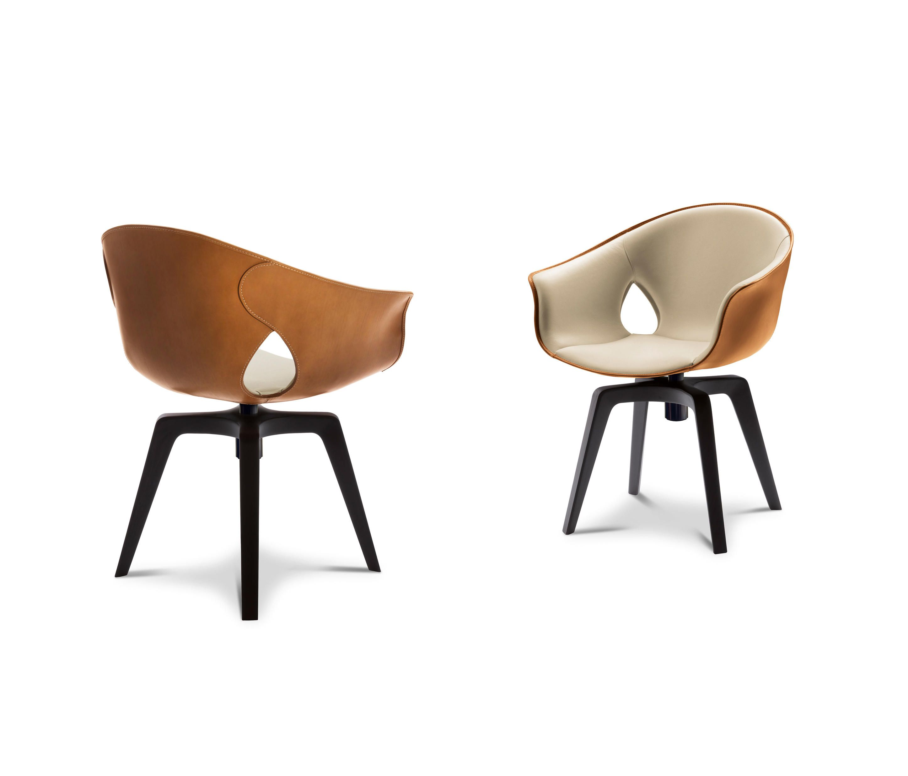 Ginger Swivel Chairs From Poltrona Frau Architonic Poltrona Frau Chair Chair Design
