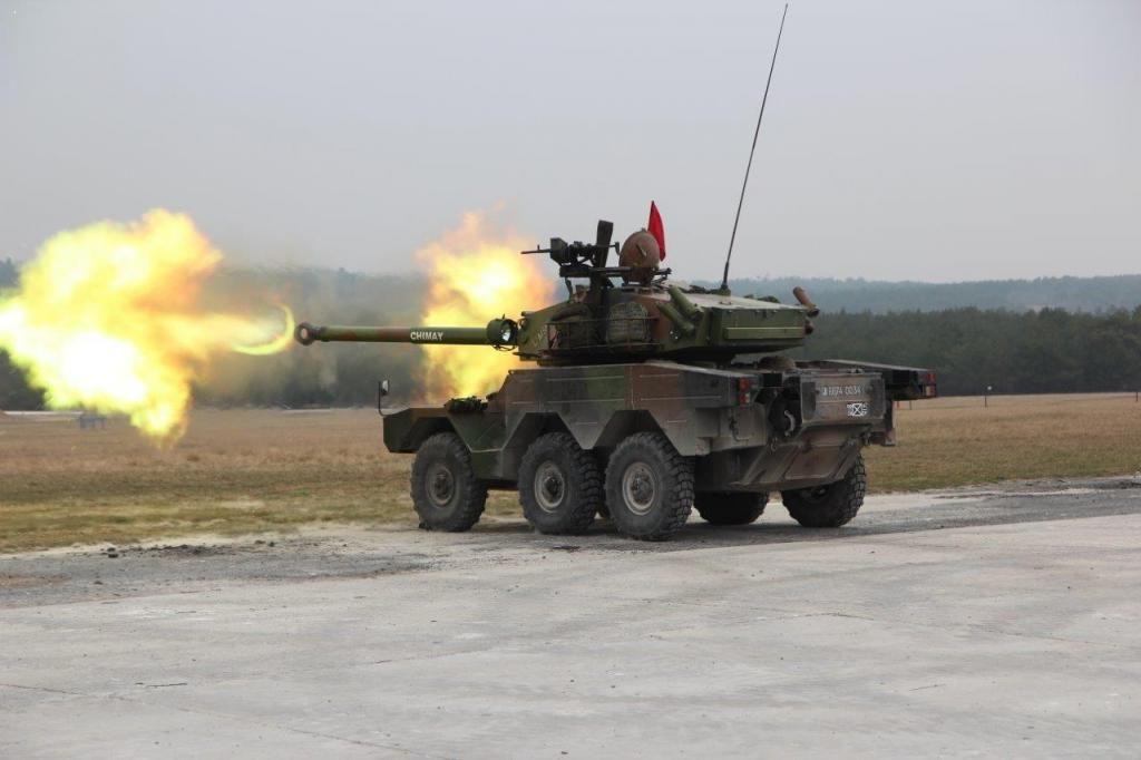 French Foreign Legion ERC 90 Sagaie light tank