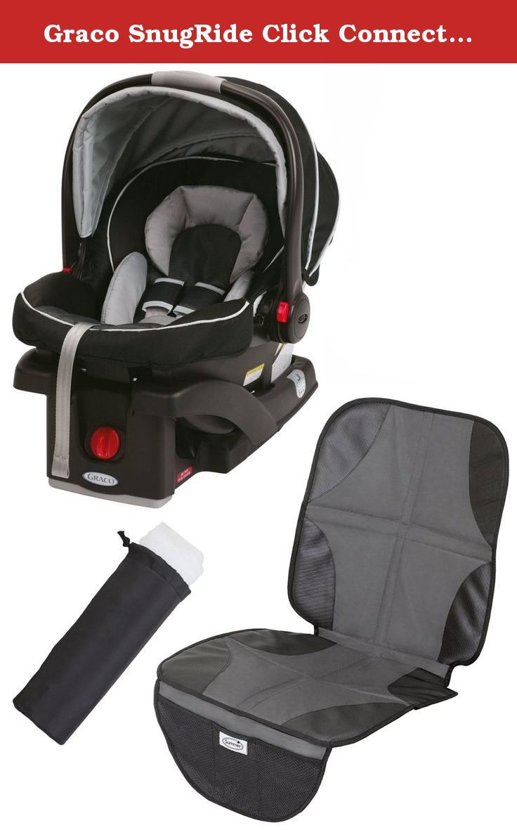 graco snugride click connect 35 infant car seat with car seat mat carrier netting gotham the. Black Bedroom Furniture Sets. Home Design Ideas