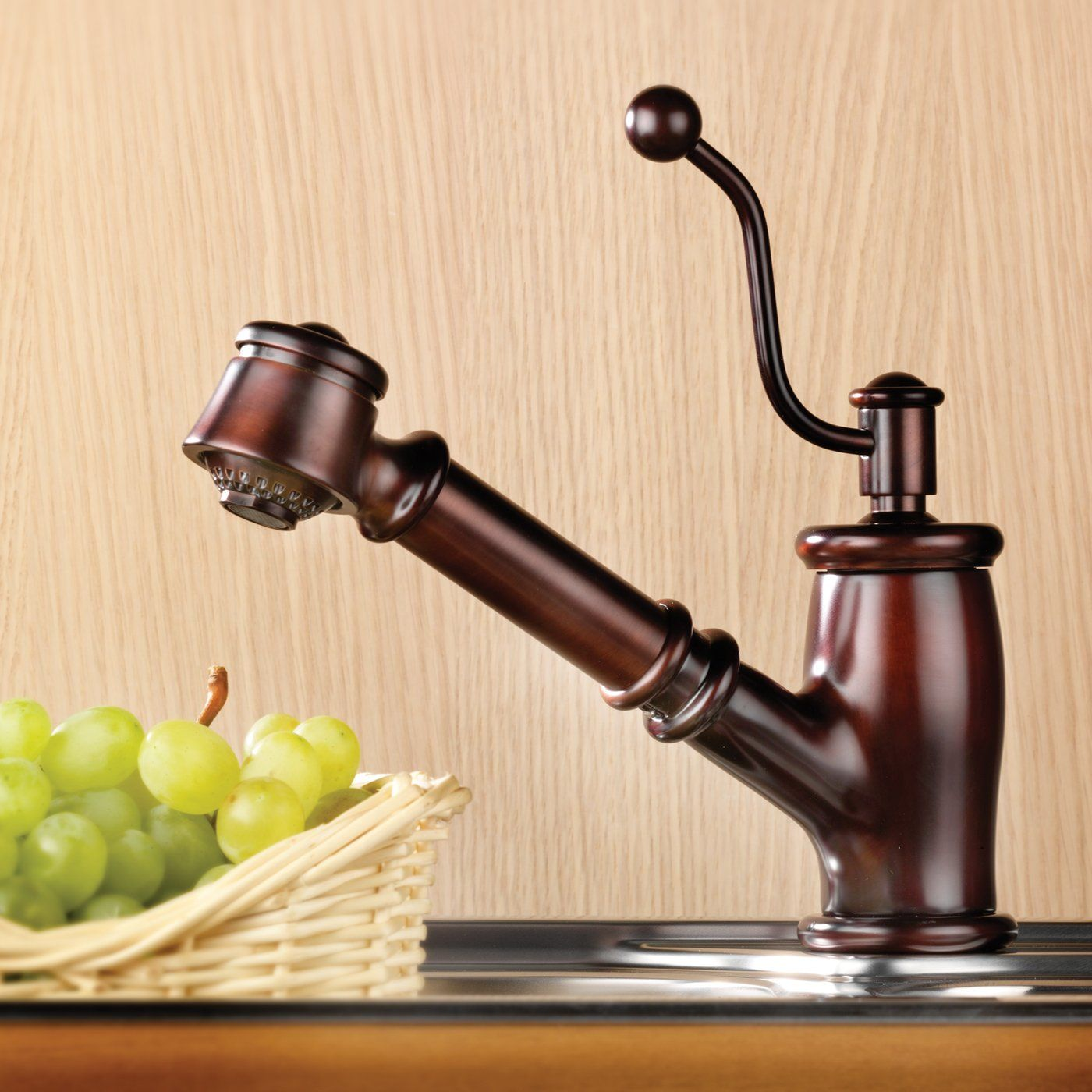 Mico Designs Ltd. 7711 Seashore Kitchen Pull Out Spray Faucet | For ...