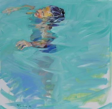 "Saatchi Art Artist claudio malacarne; Painting, ""la sorgente della vita"" #art $11000 dollars"