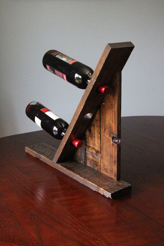Wine Rack Woodworking Pinterest Support Bouteille Support Et