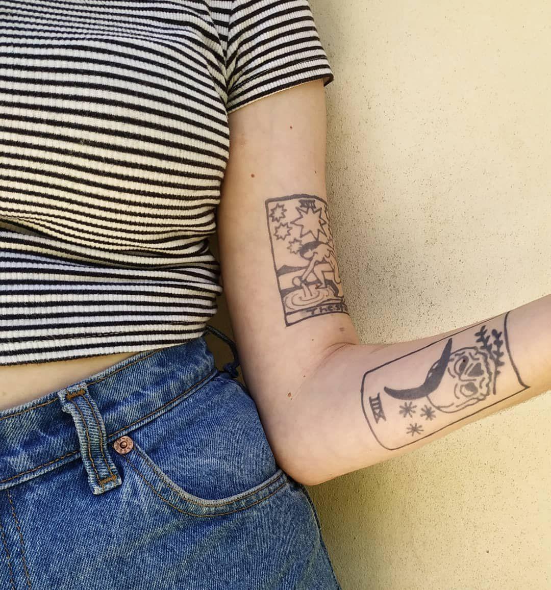 1oz freehand ink tasteful tattoos tarot tattoo tattoos