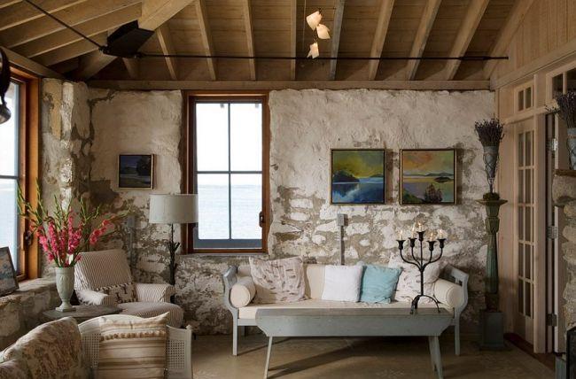 30 idées de décoration de salon avec un style rustique Salon style - decoration de salon moderne