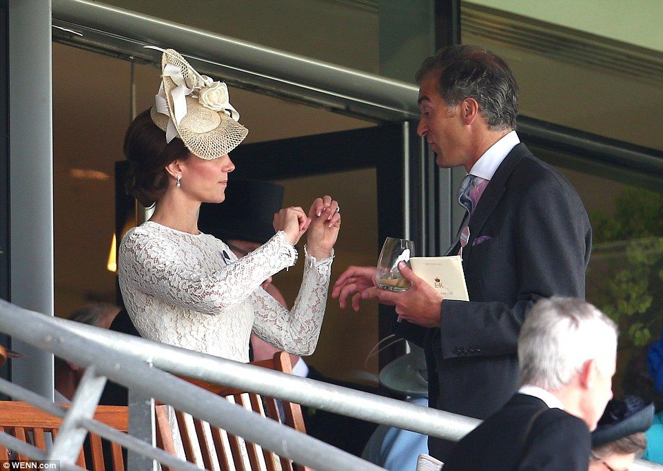 Hugh's daughter Grace was a flower girl at the royal wedding and his brother is godfather ...
