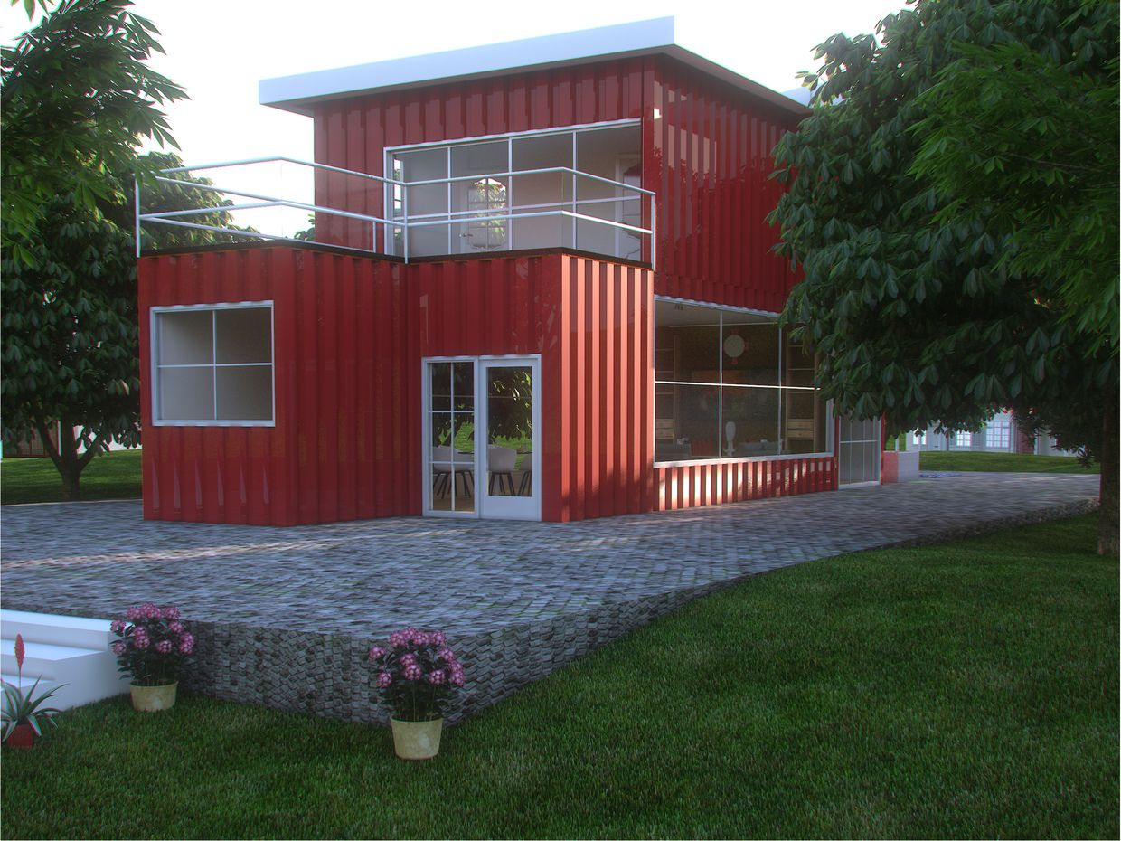 Seecontainer Haus Container House Container Houses Wow Pinterest