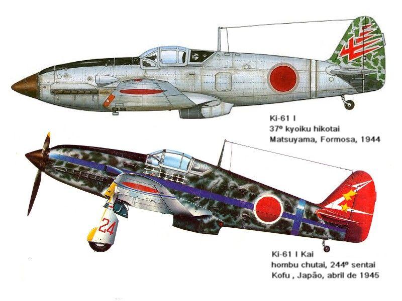 Nakajima Ki 61 Hien Tony Veiculos Militares Forca Aerea