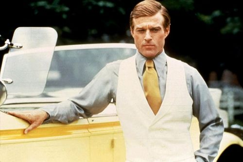 Robert Redford as Jay Gatsby in the 1974 release.