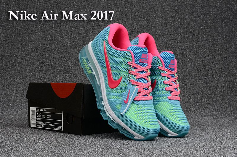 a10ab2cbc2 denmark nike air max 2017 leather blue pink white women shoes b7508 0e65f