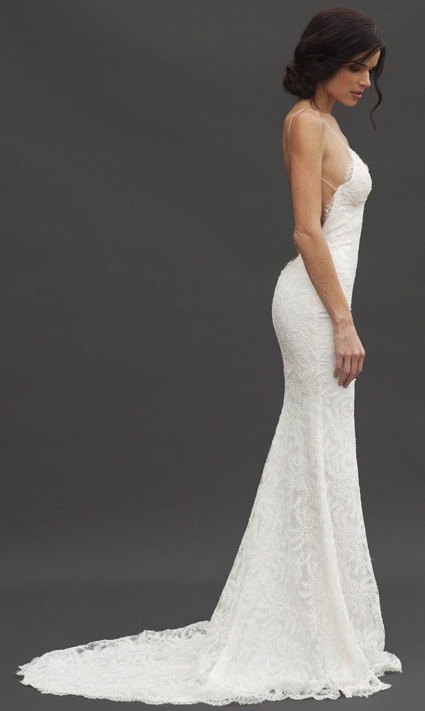 Princeville Gown | 1 + 1 = 2 | Pinterest | Wedding dress backless ...
