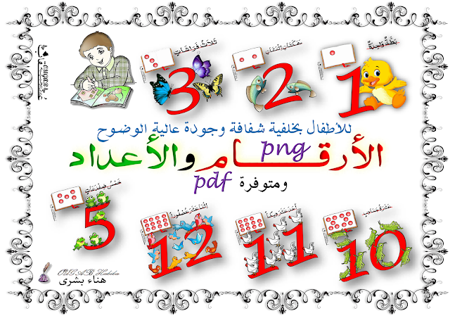 قصاصات الأرقام والأعداد للأطفال Blog Learning Blog Posts
