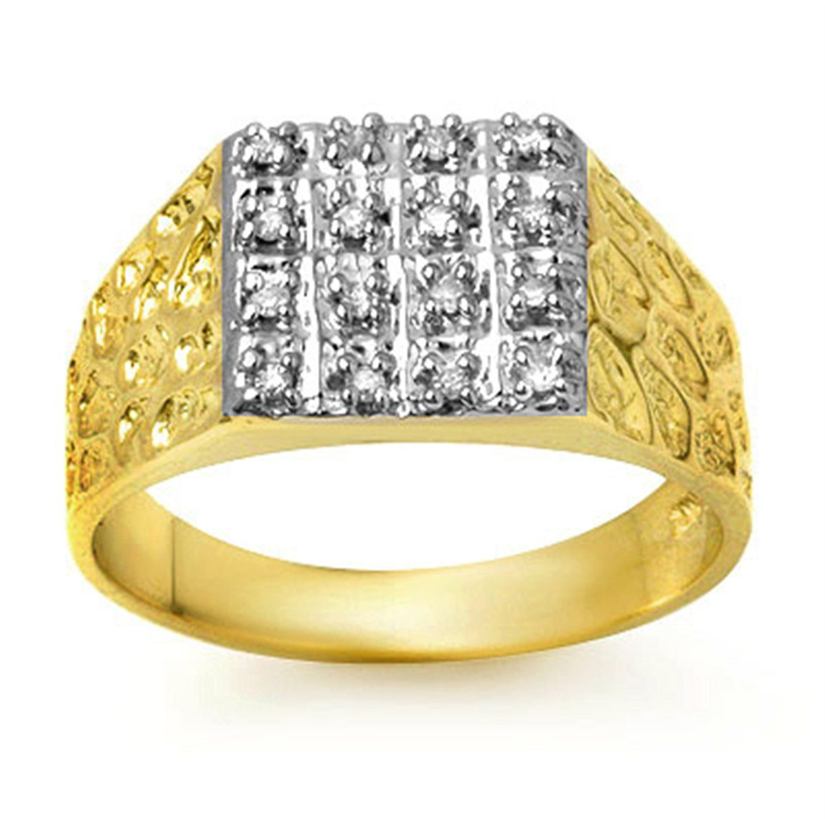 mens gold diamond ring google search - Mens Gold Wedding Rings