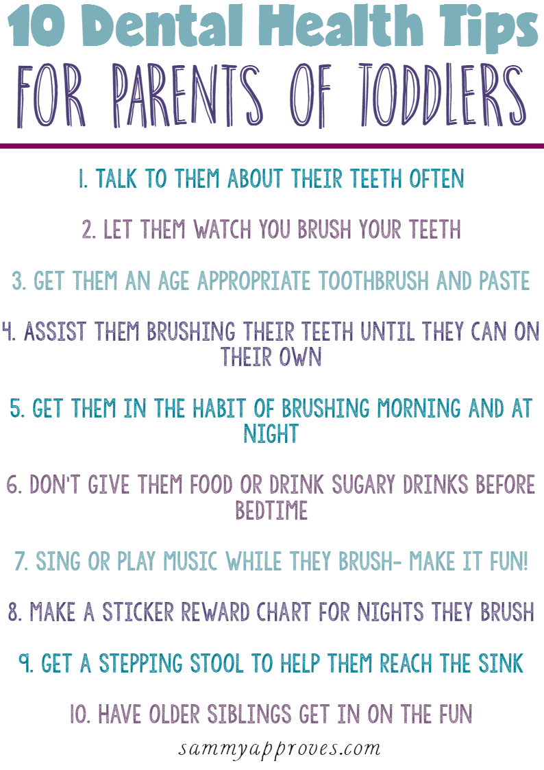 Amazing Dental Health Tips For Toddlers Give Kids A