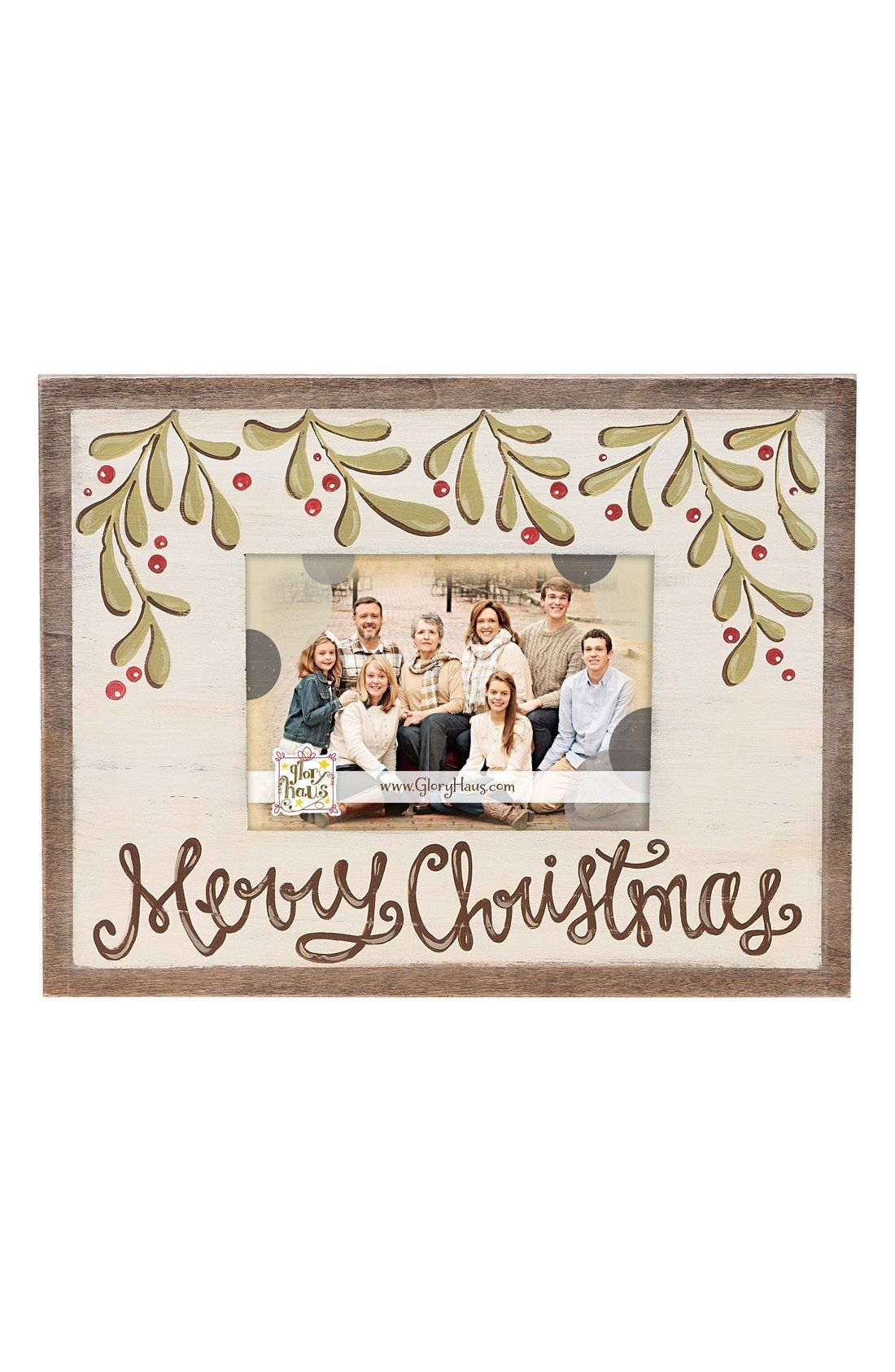 Glory Haus Merry Christmas Frame available at #Nordstrom   Picture ...