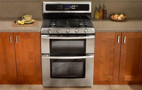 Sweet freestanding double oven (kitchen) Freestanding