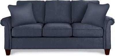 Bree Sofa by La-Z-Boy w/ Navy fabric B968485 | cottage decor ...