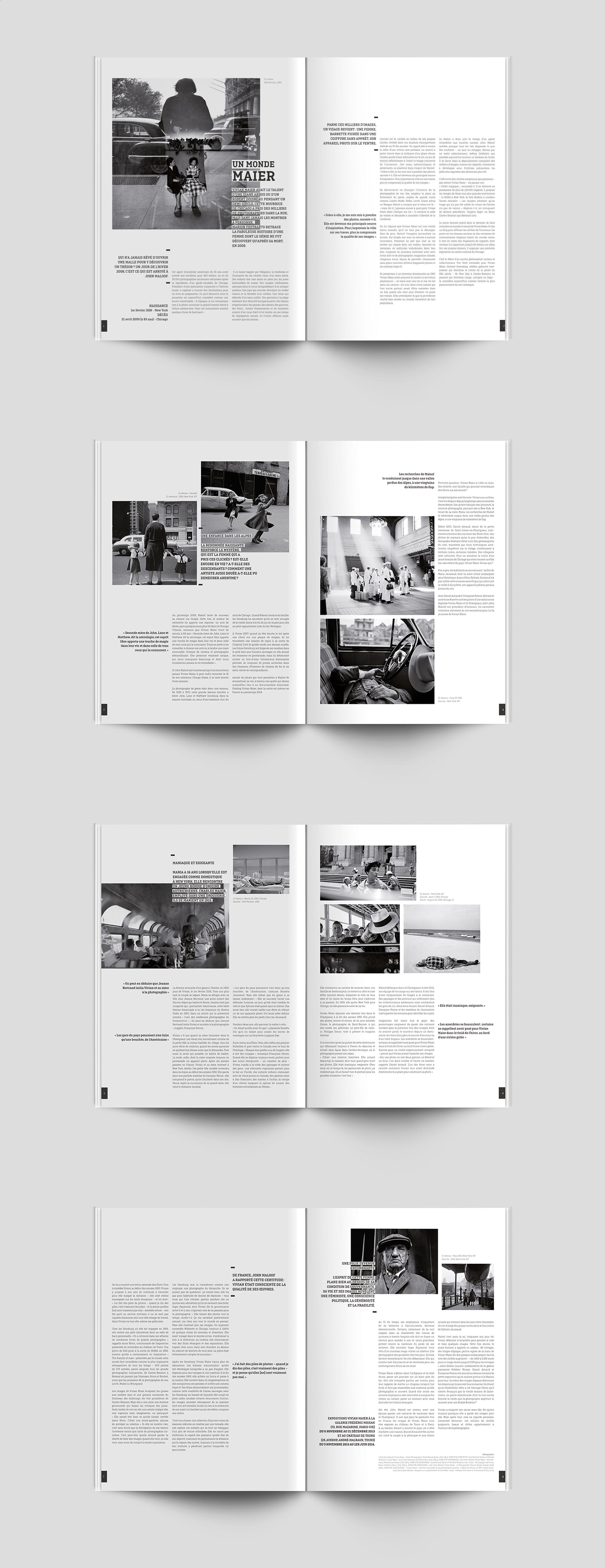 Decouvrez Mon Projet Behance Edition Mise En Page Magazine