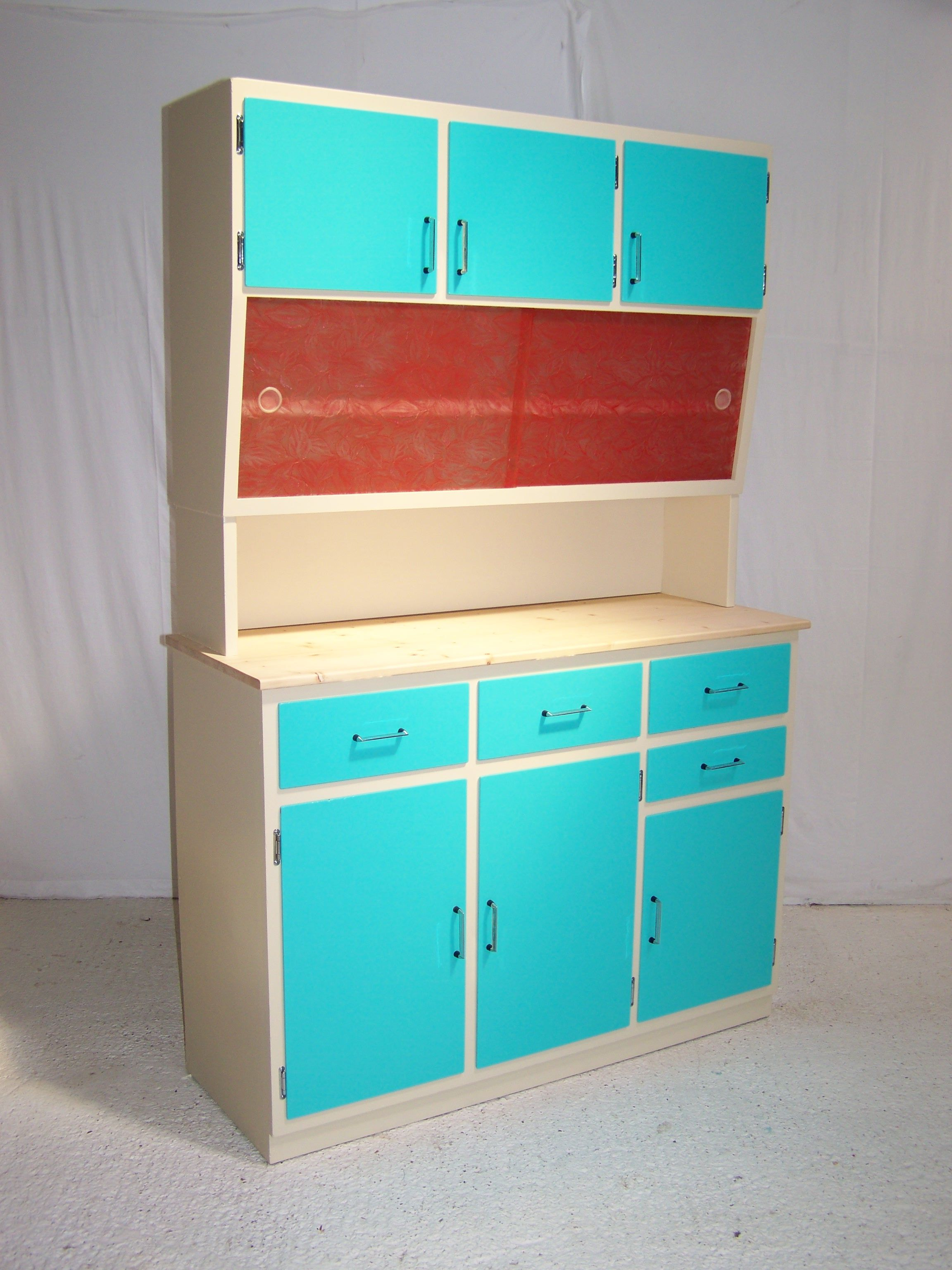 Love it !!! reworked vintage retro 50s kitchen cabinet | For the ...